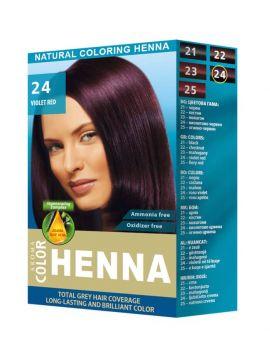 Aroma Coloring Henna Violet Red (Roșu Violet)