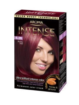 Vopsea de păr Aroma Intense Ruby Red (Roșu Rubiniu)
