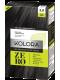 Vopsea de păr fără amoniac Kolora Zero Negru Catifea