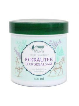 """Balsam revitalizant si antireumatic """"Puterea calului"""" cu 10 plante medicinale 250 ml"""
