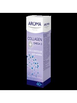Cremă contur pentru ochi colagen si Omega 3