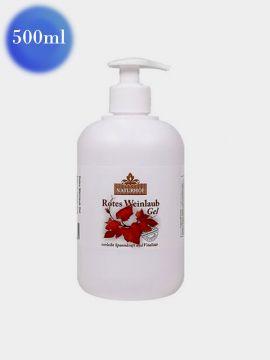 Gel-balsam de picioare îmbunătățirea circulației cu viță de vie 500 ml (ambalaj cu pompiță)