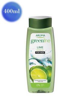 Gel de duș Greenline cu extract de Lime pentru bărbați