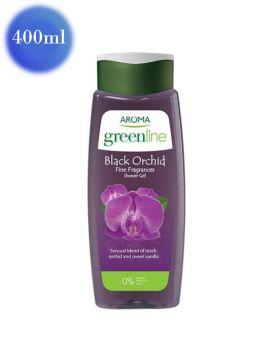Gel de duș Greenline cu orhidee neagră și iasomie