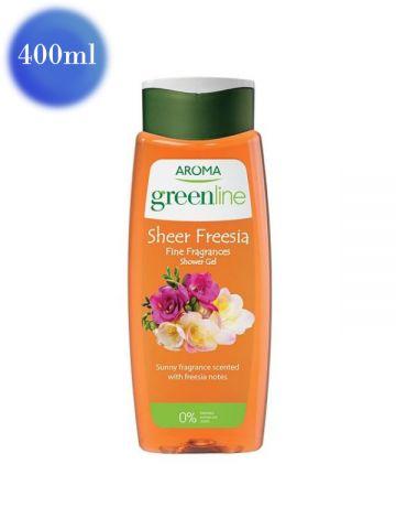 Gel de duș Greenline cu frezie