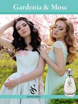 GARDENIA & MOSC (parfum SANGADO 50 ml)