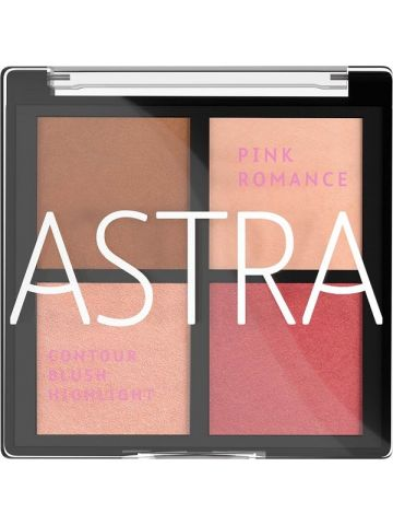 Paleta romantic- ASTRA BLUSH