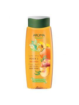 GEL DE DUS Aroma Peach & Persimmon - 400 ml