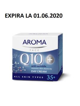 CREMA DE ZI pentru față anti-rid Q10+