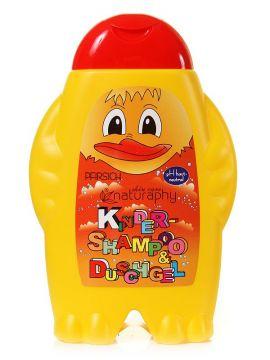 Șampon- Gel de duș -piersica pentru copii