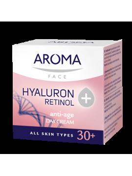 CREMA DE ZI pentru față cu Hyaluron + Retinol