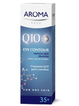 Cremă contur pentru ochi Q10+